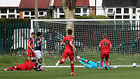Lewis White scores Millwall's second goal during Millwall Under-23 vs Huddersfield Town Under-23, Professional Development League Football at Millwall Training Ground on 14th August 2017