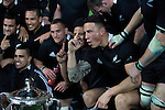 Sonny Bill Williams. All Blacks beat Australia 22-0. Eden Park, Auckland. 25 August 2012. Photo: Marc Weakley