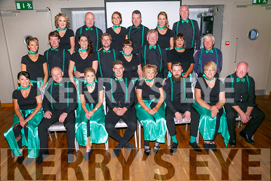 contestants at the Churchill GAA Strictly Come Dancing in the Ballyroe Heights Hotel on Sunday