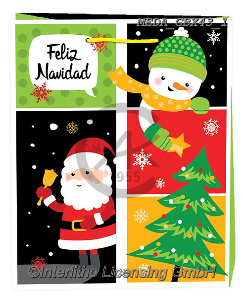 Dreams, CHRISTMAS ANIMALS, WEIHNACHTEN TIERE, NAVIDAD ANIMALES, paintings+++++,MEDAGBX43/1,#XA# ,sticker,stickers