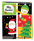 Dreams, CHRISTMAS ANIMALS, WEIHNACHTEN TIERE, NAVIDAD ANIMALES, paintings+++++,MEDAGBX43/1,#XA# ,sticker,stickers