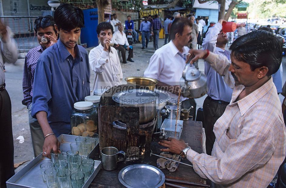 "Asie/Inde/Maharashtra/Bombay: Marchand de thé ""Chaiwallah"""