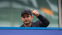 Frank Lampard during the Premier League match between Chelsea and Tottenham Hotspur at Stamford Bridge, London, England on 1 April 2018. Photo by Andy Rowland.