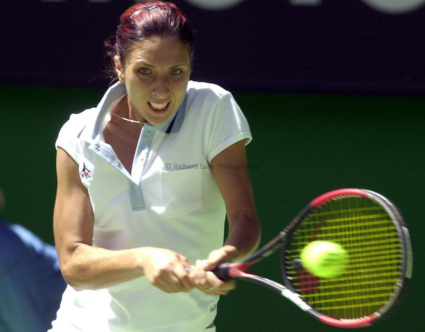 Australian Open Tennis 2003.22/01/2003..Anastasia Myskina