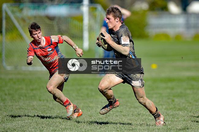 NELSON, NEW ZEALAND - August 12: UC Championship, Waimea Combined v Ashburton College, August 12, 2017, Waimea College, Nelson, New Zealand. (Photo by: Barry Whitnall Shuttersport Limited)