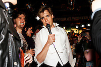 The Hives give a special intimate performance at The Studio at Webster Hall on April 26, 2012 in New York City. Credit: Jen Maler/MediaPunch Inc.