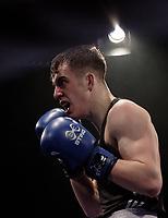 Sheffield Varsity Boxing 2017 Mat Smith Team Hallam v Elliot Sharp Uni of Sheffield