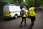 © Joel Goodman - 07973 332324 . .  12/06/2016 . Manchester , UK . Police at the Parklife music festival at Heaton Park in Manchester as GMP extend an appeal to find Rebecca Dacre , 26 from Ulverston , who went missing during the festival last night (11th June 2016) . Photo credit : Joel Goodman