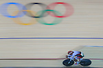 Kazushige Kuboki (JPN), <br /> AUGUST 14, 2016 - Cycling : <br /> Men's Omnium 4km Individual Pursuit  <br /> at Rio Olympic Velodrome <br /> during the Rio 2016 Olympic Games in Rio de Janeiro, Brazil. <br /> (Photo by Sho Tamura/AFLO SPORT)