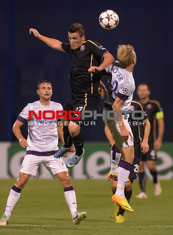 21.08.2013., Maksimir, Zagreb - First match of the fourth qualifying round of the Champions League, GNK Dinamo - Austrija Bec.  Said Husejinovic <br /> .<br /> Foto &not;&copy;  nph / PIXSELL / Marko Prpic