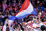 Third placed Croatian players celebrate after men`s EHF EURO 2012 handball championship  in Belgrade, Serbia, Sunday, January 29, 2011.  (photo: Pedja Milosavljevic / thepedja@gmail.com / +381641260959)