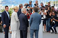 Emma Thompson, Ben Stiller, Dustin Hoffman &amp; Adam Sandler at the photocall for &quot;The Meyerowitz Stories&quot; at the 70th Festival de Cannes, Cannes, France. 21 May 2017<br /> Picture: Paul Smith/Featureflash/SilverHub 0208 004 5359 sales@silverhubmedia.com