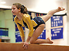 Bethpage gymnastics at Long Beach High School Monday, January 4, 2016. Amanda Ferraro - Beam
