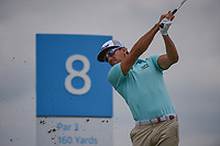 Rafael Cabrera Bello (ESP) watches his tee shot on 8 during round 1 of the AT&amp;T Byron Nelson, Trinity Forest Golf Club, Dallas, Texas, USA. 5/9/2019.<br /> Picture: Golffile | Ken Murray<br /> <br /> <br /> All photo usage must carry mandatory copyright credit (&copy; Golffile | Ken Murray)