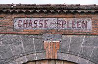 Europe/France/Aquitaine/33/Gironde/Moulis-en-Médoc: Portail Château Chasse Spleen (AOC Moulis)
