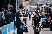Adam Yates (GBR/Mitchelton-Scott)<br /> <br /> Stage 5: Grenoble &gt; Valmorel (130km)<br /> 70th Crit&eacute;rium du Dauphin&eacute; 2018 (2.UWT)