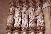 Apostles, Evora's Cathedral, Evora, Portugal