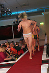 Models in underwear from Unit 1 give dafs to the audience at the Daffodil Day Fashion Show in the Westcourt Hotel...Photo NEWSFILE/Jenny Matthews.(Photo credit should read Jenny Matthews/NEWSFILE)....This Picture has been sent you under the condtions enclosed by:.Newsfile Ltd..The Studio,.Millmount Abbey,.Drogheda,.Co Meath..Ireland..Tel: +353(0)41-9871240.Fax: +353(0)41-9871260.GSM: +353(0)86-2500958.email: pictures@newsfile.ie.www.newsfile.ie.FTP: 193.120.102.198.