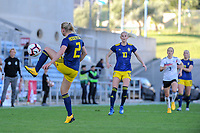 20200304 Faro , Portugal : Swedish Jonna Andersson (2) pictured during the female football game between the national teams of Germany and Sweden on the first matchday of the Algarve Cup 2020 , a prestigious friendly womensoccer tournament in Portugal , on wednesday 4 th March 2020 in Faro , Portugal . PHOTO SPORTPIX.BE | STIJN AUDOOREN