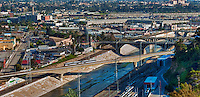 Downtown Los Angeles, Bridge, Industrial