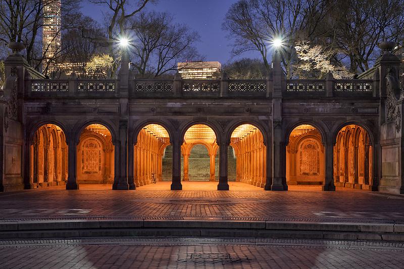 Bethesda Terrace<br /> Central Park, New York City