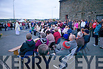 Parishioners attend Dawn mass in Duagh on Easter Sunday.