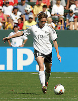 Stephanie Gottschlich, Germany 2-1 over Sweden at the  WWC 2003 Championships.