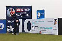 Joost Luiten (NED) and on the 10th tee during the Pro-Am of the Betfred British Masters 2019 at Hillside Golf Club, Southport, Lancashire, England. 08/05/19<br /> <br /> Picture: Thos Caffrey / Golffile<br /> <br /> All photos usage must carry mandatory copyright credit (© Golffile | Thos Caffrey)