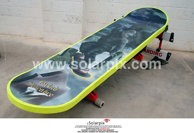 """ALL ROUND EXCLUSIVE PICTURES FROM SOLARPIX.COM.**NO PUBLICATION IN FRANCE, SCANDANAVIA, AUSTRALIA AND GERMANY** NO UK NEWSPAPER PUBLICATION - UK MAGAZINES ONLY**.Crazy Coffins -.The Nottingham based company are commissioned to make bespoke coffins ranging from a skip to a corkscrew..The company has seen have huge rise over the years  in the amount of people requesting their coffins to be made before they die.JOB REF: 2981 SFE.""""MUST CREDIT SOLARPIX.COM OR DOUBLE FEE WILL BE CHARGED"""".."""