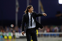 SAN JOSE, CA - AUGUST 03: Matias Almeyda  during a Major League Soccer (MLS) match between the San Jose Earthquakes and the Columbus Crew on August 03, 2019 at Avaya Stadium in San Jose, California.