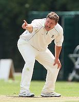 O Peck of Upminster appeals for a wicket - Upminster CC vs Gidea Park & Romford CC - Essex Cricket League at Upminster Park - 27/06/09- MANDATORY CREDIT: Gavin Ellis/TGSPHOTO - Self billing applies where appropriate - 0845 094 6026 - contact@tgsphoto.co.uk - NO UNPAID USE.