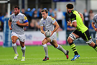 George Ford of Bath Rugby in possession. Pre-season friendly match, between Leinster Rugby and Bath Rugby on August 26, 2016 at Donnybrook Stadium in Dublin, Republic of Ireland. Photo by: Patrick Khachfe / Onside Images
