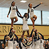 Baldwin performs during the Nassau County varsity cheerleading championships at Wantagh High School on Sunday, Feb. 25, 2018.