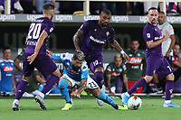 Elseid Hysaj of Napoli and Kevin-Prince Boateng of Fiorentina compete for the ball<br /> Firenze 24-8-2019 Stadio Artemio Franchi <br /> Football Serie A 2019/2020 <br /> ACF Fiorentina - SSC Napoli <br /> Photo Cesare Purini / Insidefoto