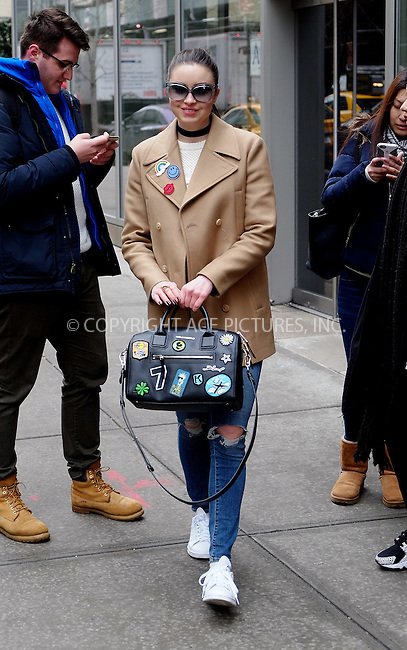 WWW.ACEPIXS.COM<br /> <br /> February 10 2016, New York City<br /> <br /> Reality show star Emma Miller left a downtown hotel on February 10 2016 in New York City<br /> <br /> By Line: Curtis Means/ACE Pictures<br /> <br /> <br /> ACE Pictures, Inc.<br /> tel: 646 769 0430<br /> Email: info@acepixs.com<br /> www.acepixs.com