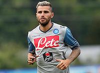 ritiro precampionato Napoli Calcio a  Dimaro 23 Luglio 2014<br /> <br /> Preseason summer training of Italy soccer team  SSC Napoli  in Dimaro Italy July 23, 2014