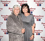 Martin Charnin & Shelly Bruce attending the 'Broadway Salutes' honoring those who make Broadway Great at the Timers Square Visitors Center in Times Square,  New York City on 9/20/2012.