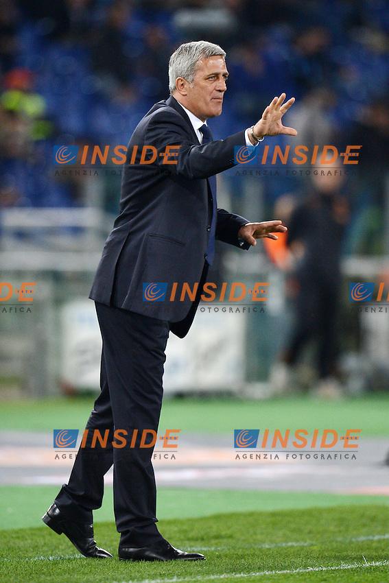 Vladimir Petkovic, allenatore della Lazio..08/04/2013 Roma.Stadio Olimpico.Football Calcio 2012/2013.Campionato di calcio serie A.Derby Roma vs Lazio.Foto Andrea Staccioli Insidefoto