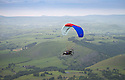 01/07/15<br /> <br /> Injured veteran David Chambers (back seat) is flown by Neil Laughton over Dovedale in the Derbyshire Peak District.<br />  <br /> <br /> *** FULL STORY HERE: <br /> http://www.fstoppress.com/articles/flying-for-heroes/  ***<br /> <br /> A special aircraft adapted to be flown by wounded, injured and sick servicemen took to the skies for the first time above Britain today.<br /> <br /> The two-seater para-trike is one of three similar aircraft operated by Flying For Heroes that are currently based at Darley Moor Airfield, Ashbourne, Derbyshire.<br /> <br /> Ten wounded servicemen took to the controls of this, and many other aircraft, during a two-day flying training camp hosted by Airways Airsports.<br /> <br /> *** FULL STORY HERE:  http://www.fstoppress.com/articles/flying-for-heroes/  ***<br /> <br /> All Rights Reserved: F Stop Press Ltd. +44(0)1335 418629   www.fstoppress.com.