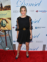 """Brec Bassinger at the premiere for """"Damsel"""" at the Arclight Hollywood, Los Angeles, USA 13 June 2018<br /> Picture: Paul Smith/Featureflash/SilverHub 0208 004 5359 sales@silverhubmedia.com"""