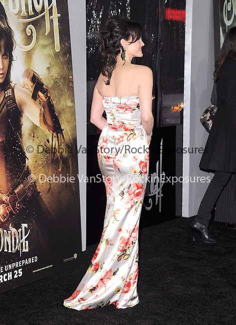 Carla Gugino at The Warner Bros. Pictures World Premiere of Sucker Punch held at The Grauman's Chinese Theatre in Hollywood, California on March 23,2011                                                                               © 2010 Hollywood Press Agency