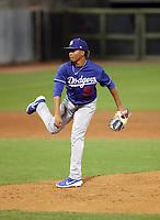 Edwin Uceta - Los Angeles Dodgers 2019 spring training (Bill Mitchell)