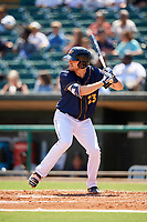 Montgomery Biscuits right fielder Ryan Boldt (23) at bat during a game against the Biloxi Shuckers on May 8, 2018 at Montgomery Riverwalk Stadium in Montgomery, Alabama.  Montgomery defeated Biloxi 10-5.  (Mike Janes/Four Seam Images)