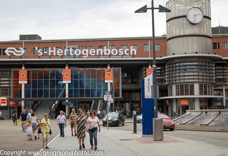 Den Bosch, 's-Hertogenbosch, railway station, North Brabant province, Netherlands