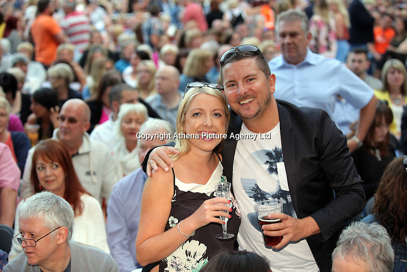 Pictured: Chris Barney Saturday 18 June 2016<br /> Re: Lionel Richie, All The Hits concert at the Liberty Stadium, Swansea, Wales, UK