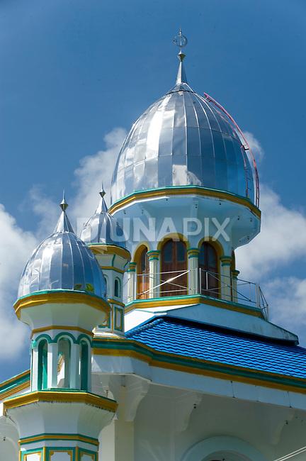 Detail of mosque minarets, Banda Besar