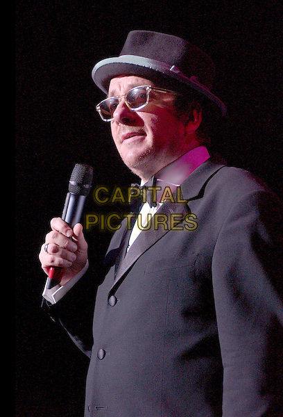 November 5, 2005; Cleveland, OH, USA; Music superstar ELVIS COSTELLO performs at the 10th Annual American Music Masters paying tribute to the late Sam Cooke presented by the Rock and Roll Hall of Fame and Case Western Reserve University held at the State Theatre, Playhouse Square. Mandatory Credit: Photo by Jason Nelson/AdMedia ..