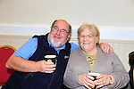 Donal and Ruth Carthy at the Irish cancer society coffee morning in Dunleer.<br /> Picture: Fran Caffrey www.newsfile.ie