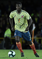 BOGOTA - COLOMBIA, 03-06-2019: Cristian Zapata jugador de Colombia en acción durante partido amistoso entre Colombia y Panamá jugado en el estadio El Campín en Bogotá, Colombia. / Cristian Zapata player of Colombia in action during a friendly match between Colombia and Panama played at Estadio El Campin in Bogota, Colombia. Photo: VizzorImage/ Gabriel Aponte / Staff