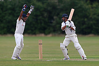Parkonians claim the fifth Hainault wicket during Hainault and Clayhall CC (batting) vs Oakfield Parkonians CC, Shepherd Neame Essex League Cricket at the Jack Carter Pavilion on 15th July 2017